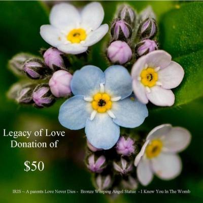 Legacy of Love $50 Donation